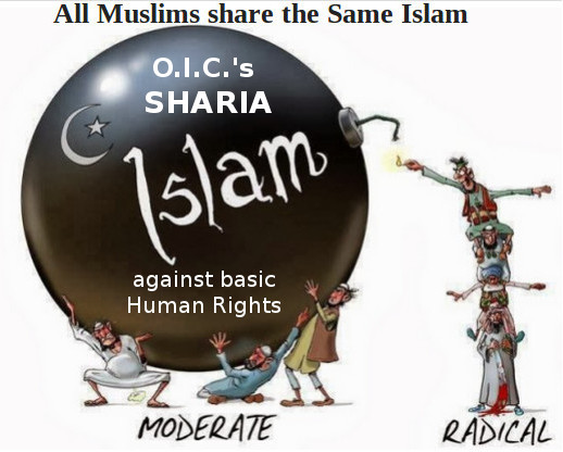 Sharia islam is the hide-away for racist/sexist supremacists