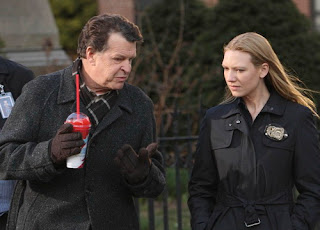 Walter Noble holds a Slusho in 'Fringe'