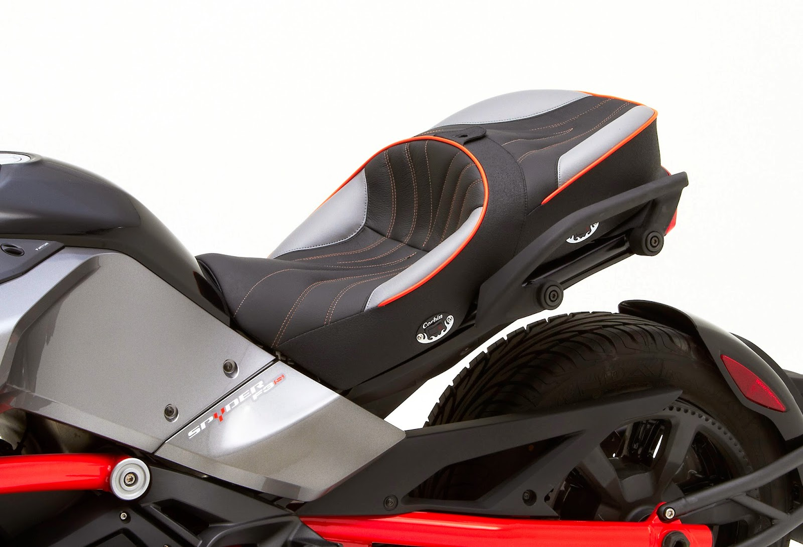 Corbin dual touring saddle for can am spyder f3