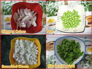 Paneer Bhurji Ingredients