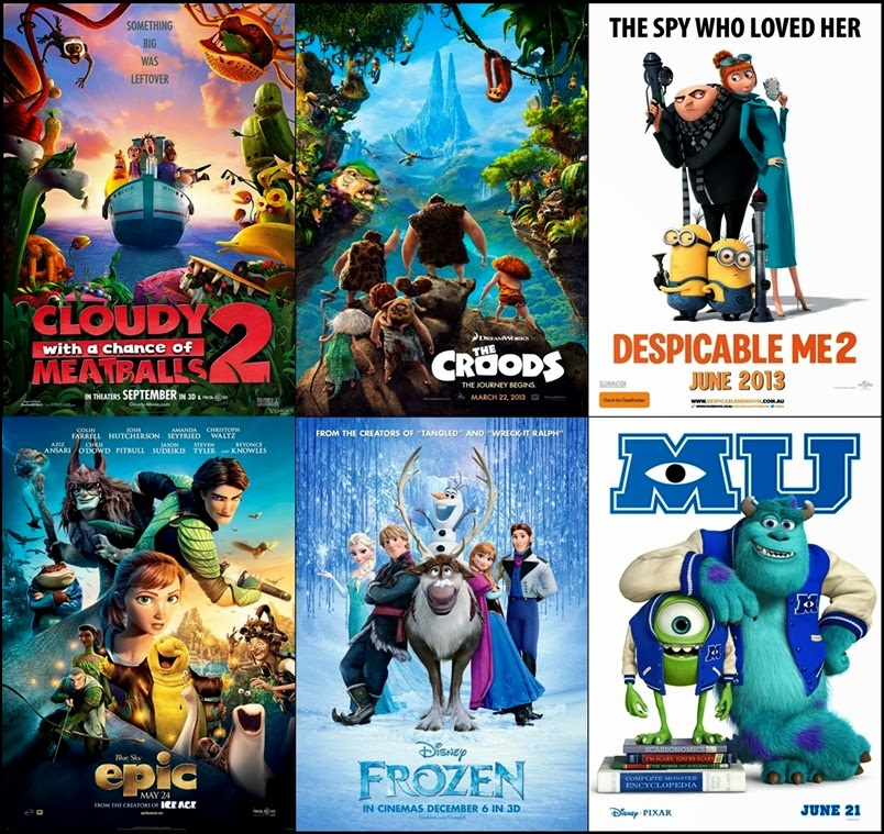 The Croods 2 Movie: THE MIDNIGHT MAX: Shortcut Reviews: The Animated Films Of