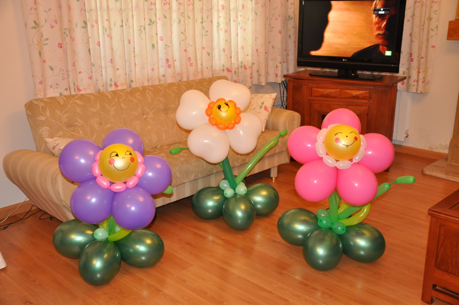 Decoraciones infantiles con globos decoraciones infantiles for Decoraciones para decorar