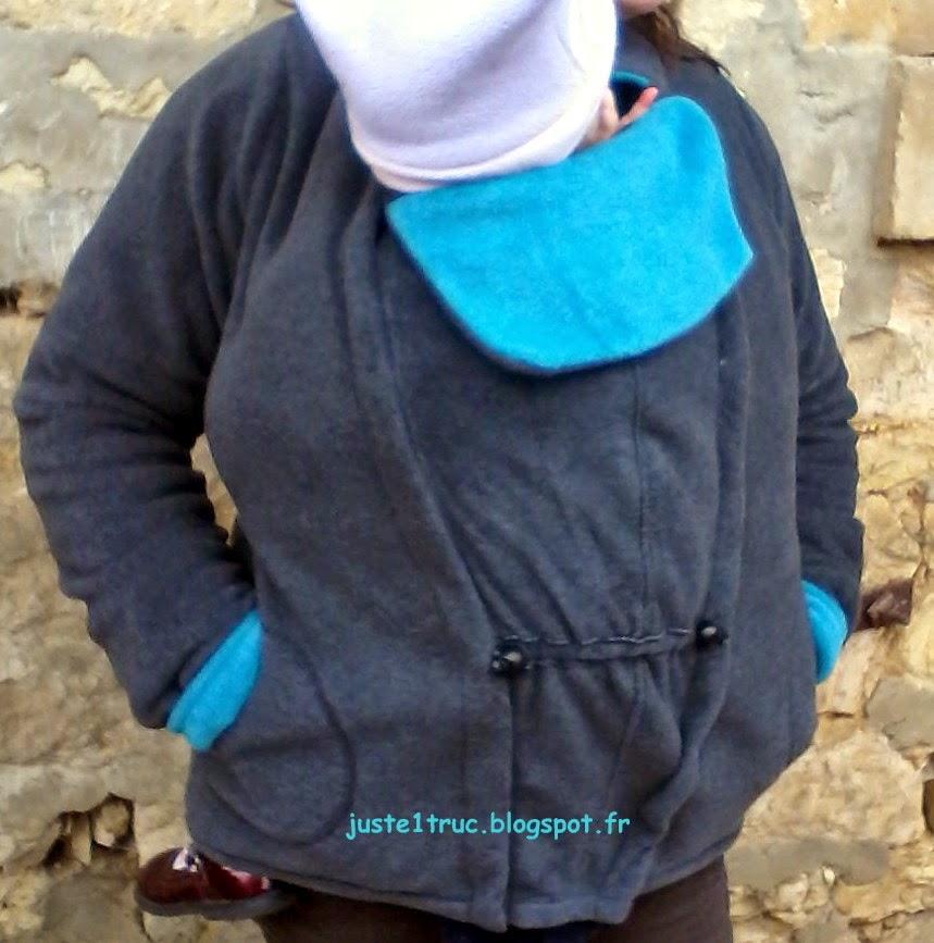 portage review test cali calo stella veste manteau polaire claraBulle  calicalo 4d02ff861a3