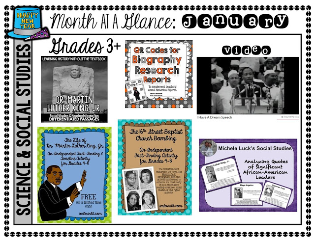 Sharing Sunday MLK Resources from Ideas By Jivey