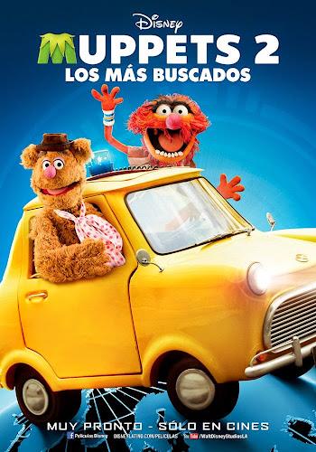 Muppets 2 Los más buscados DVDRip Latino