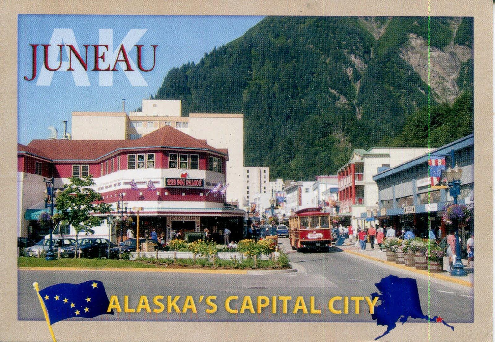Collect Roc Usa Postcard Juneau Alaska S Capital City