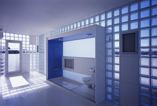 Teia design tijolo de vidro - Finestra vetrocemento ...