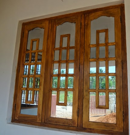 Kerala wooden window wooden window frame design wood for Latest window designs for house