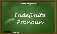 Indefinite Pronoun