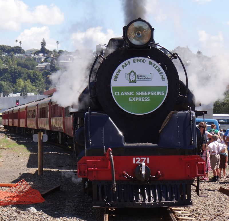A Hebridean In New Zealand: Steam Locomotive Ja1271
