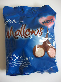 princess chocolate coated mallows