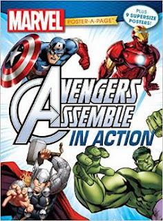 Marvel Avengers Assemble in Action Poster-A-Page