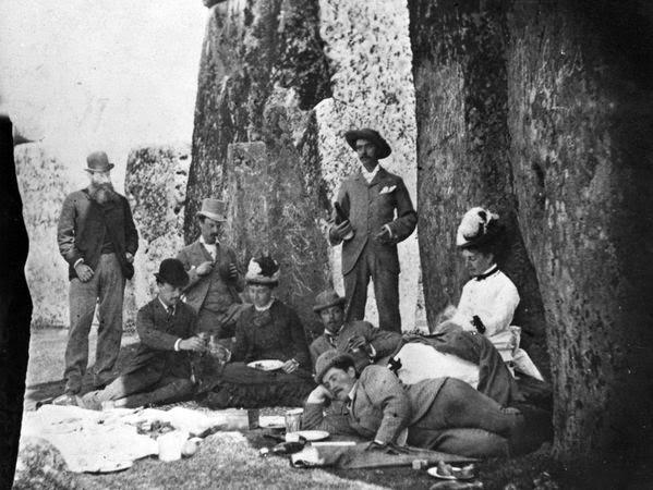 Fotografías antiguas de Stonehenge