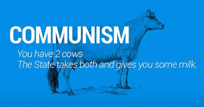 """capitalism vs communism """