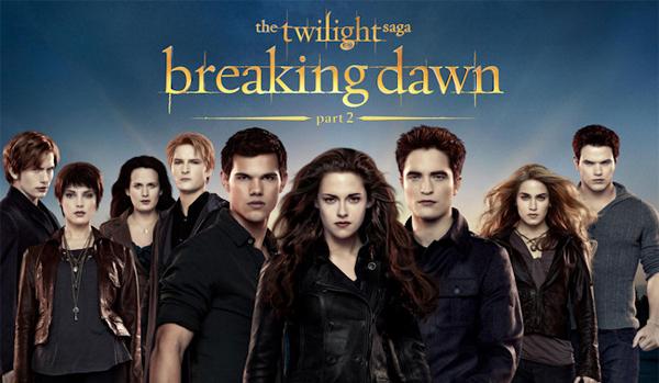 Cine noviembre 2012: Crepúsculo Amanecer parte 2