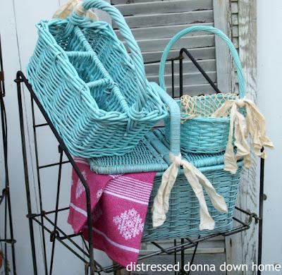 quick basket makeovers