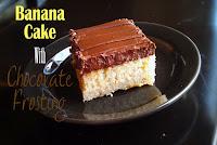 Egg Free Banana Cake