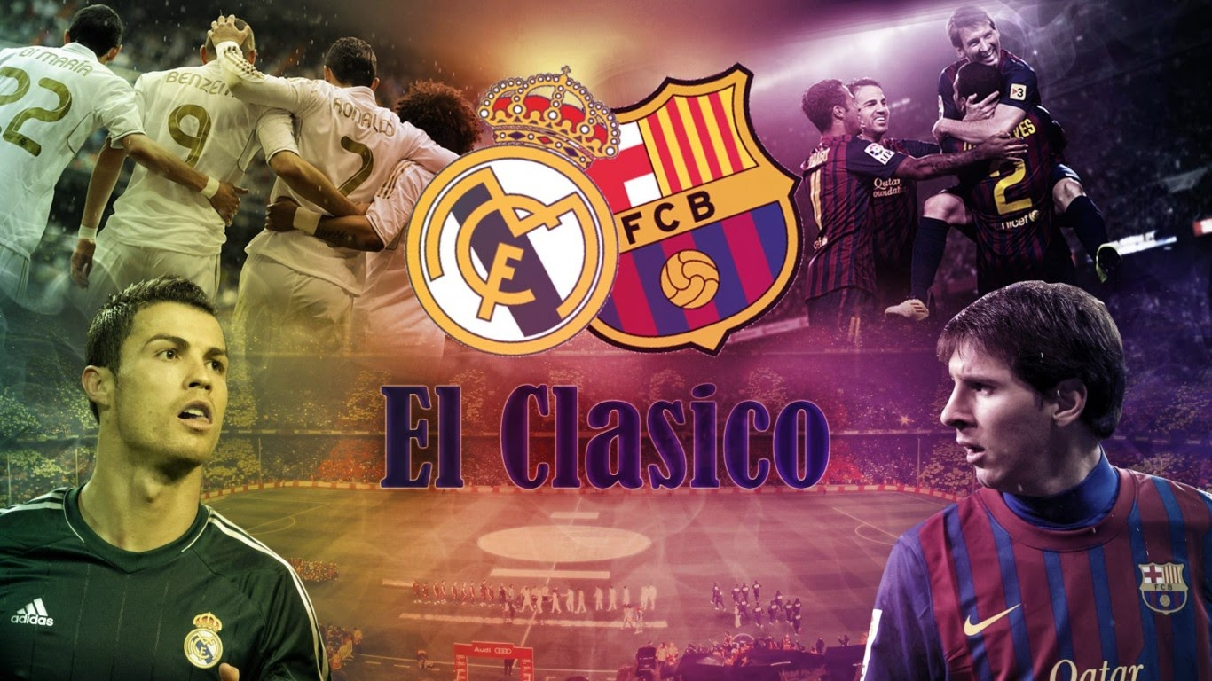 Siaran Langsung Real Madrid vs Barcelona El Clasico Final 17 April 2014