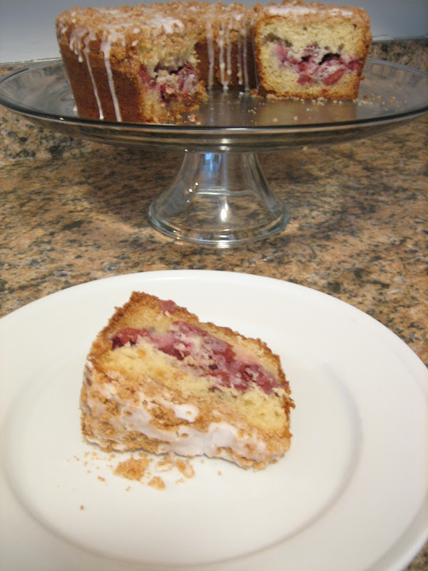 ... , domesticity, and all things mini: Sour cherry streusel coffee cake