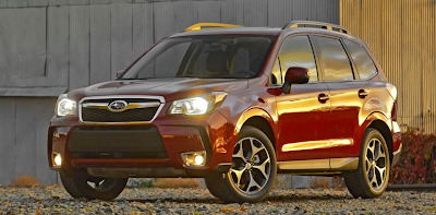 2014 Subaru Forester red