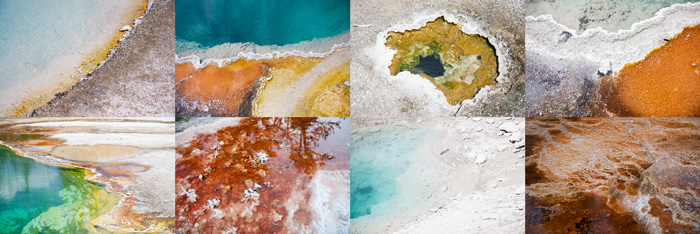 Йеллоустоун знаменит яркими озерами