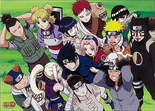 Jenis Ninja dalam Anime Naruto beserta Tingkatannya