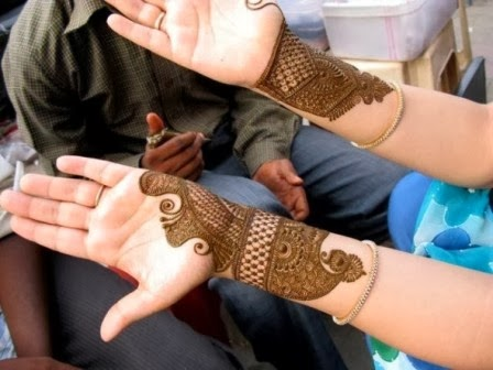 2013-14 mehndi designs for brides