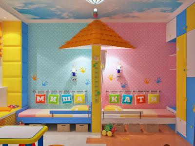 decorar quarto para menina e menino