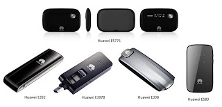 New Huawei LTE modems, smartphone and router in 2012
