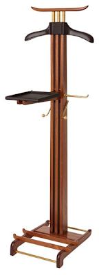 mahogany valet stand