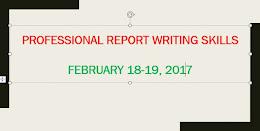 4. Professional Report Writing Skills