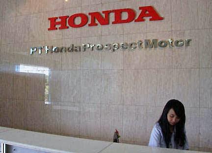 Lowongan Kerja Operator Produksi  PT.HPM (Honda Prospect Motor)