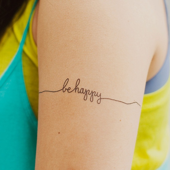 Love This Cute ( Faux ) Tattoo