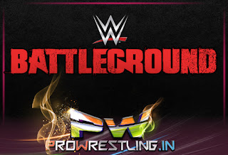 WWE Battleground 2015 PPV Match Card As on July 1, 2015
