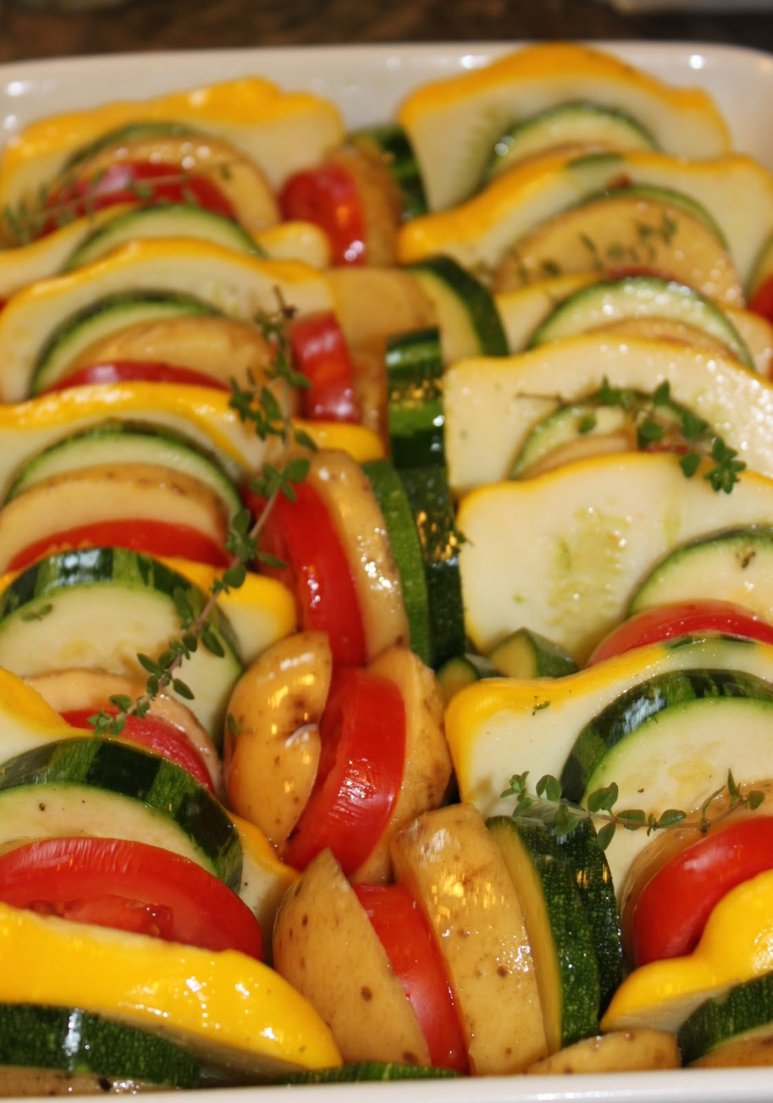 Vegetable Tian Recipe — Dishmaps