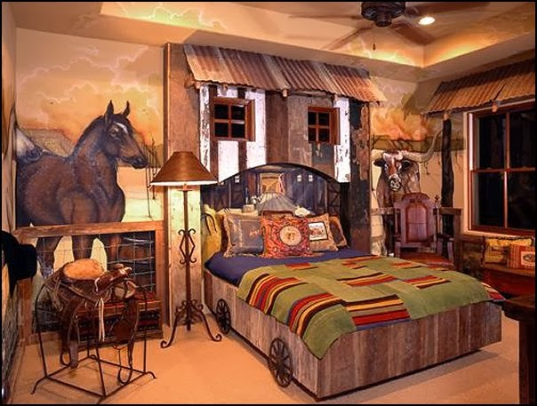 Merveilleux Cowboy Theme Bedrooms   Rustic Western Style Decorating Ideas   Rustic Decor    Cowboy Decor