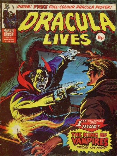 Marvel UK, Dracula Lives #1