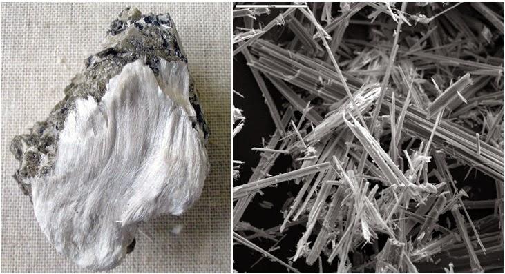 Manfaat dan Kegunaan Asbes sebagai Barang Tambang