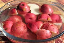 how to cook red potatoes and green beans in oven