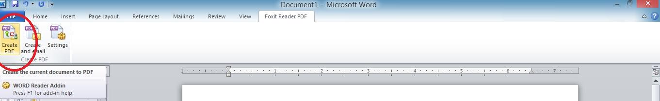 cara menggabungkan file pdf dengan foxit reader