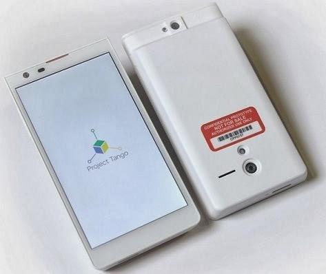 جوجل تعلن رسميا عن  Project Tango أول هاتف بخاصية رسم المجسمات 3D