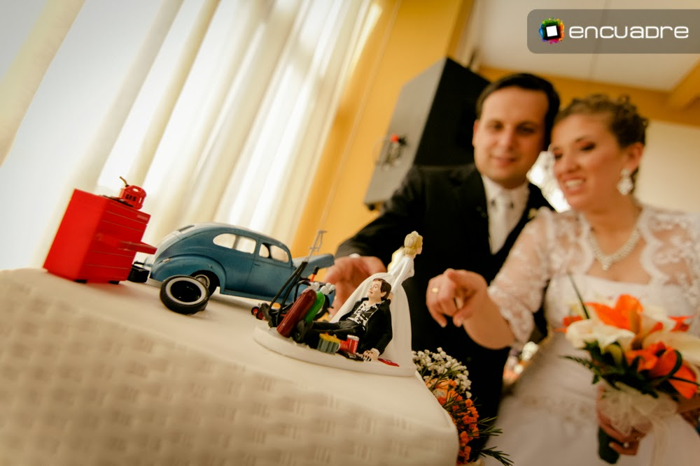 fotos boda torta