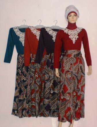 Grosir Baju Muslim Murah Online Tanah Abang Gamis Gaun