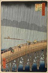 Ohashi Atake no Yudachi by Hiroshige
