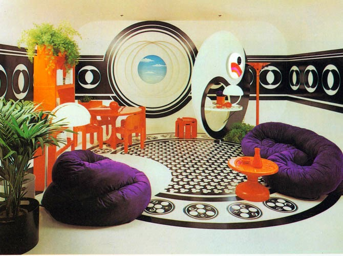 2 صور صالونات و غرف جلوس بالوان زاهية