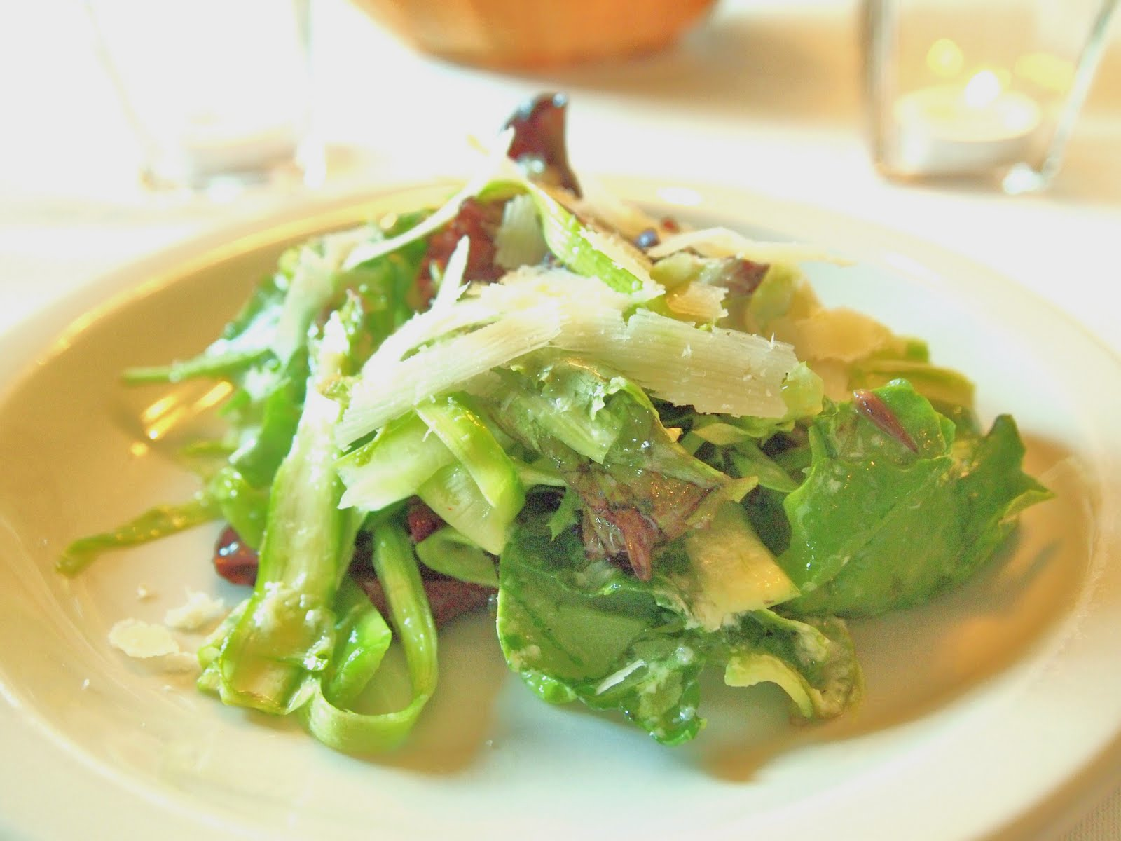 The Alchemist: Shaved Asparagus Salad
