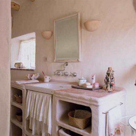 Mi rinc n de sue os ba os con muebles de obra for Muebles de lavabo de obra