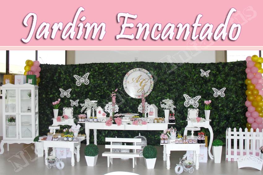 mesa de guloseimas jardim encantado provencalJardim Das Borboletas