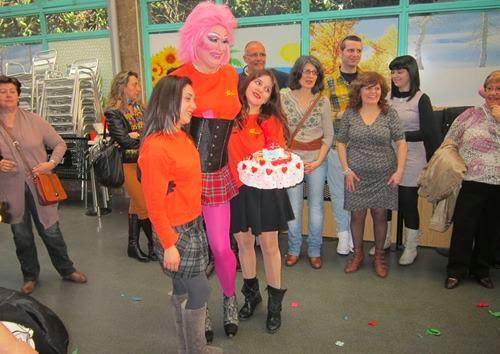 Animación con espectáculo drag queen Fuenlabrada con Gabrielle