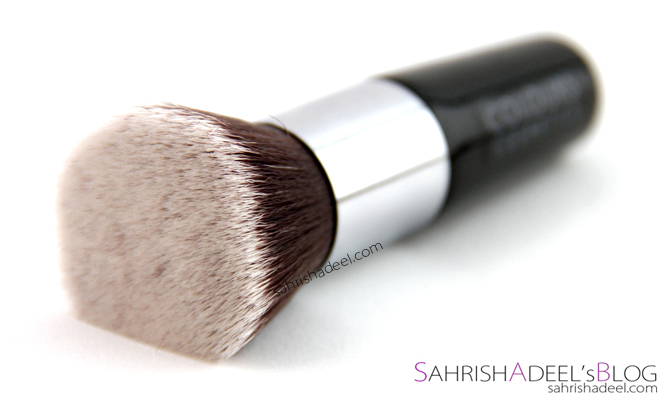 Short Handle Flat Top Foundation Brush by Colours Cosmetics Malaysia - Review